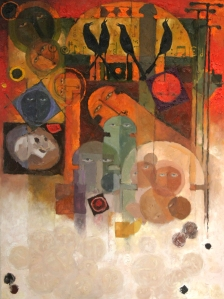 """Morning Melody, oil on canvas, 36"""" X 48"""", 2010, $4800"""